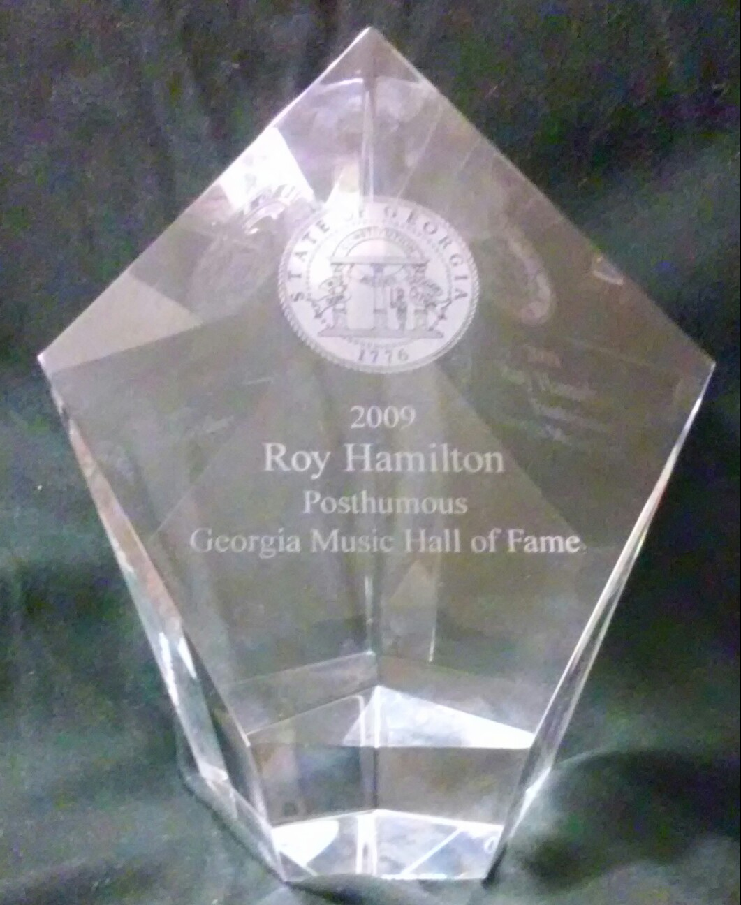 Roy Hamilton GMHOF AWARD